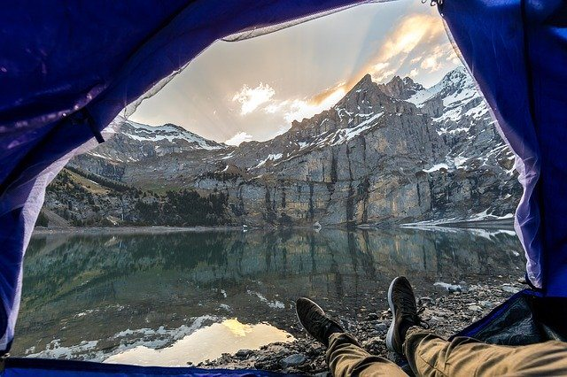 The Best Tents For Camping - Winter View From Tent