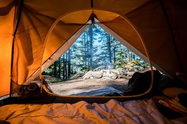 What To Take On Camping - Summer Camp - Orange Tent