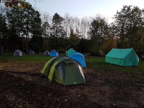 Vango Omega 350 Review - End On