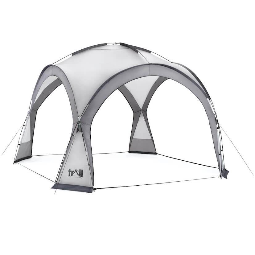 Camping Gazebo Shelter - 564588_dome_shelter_XL_grey_1