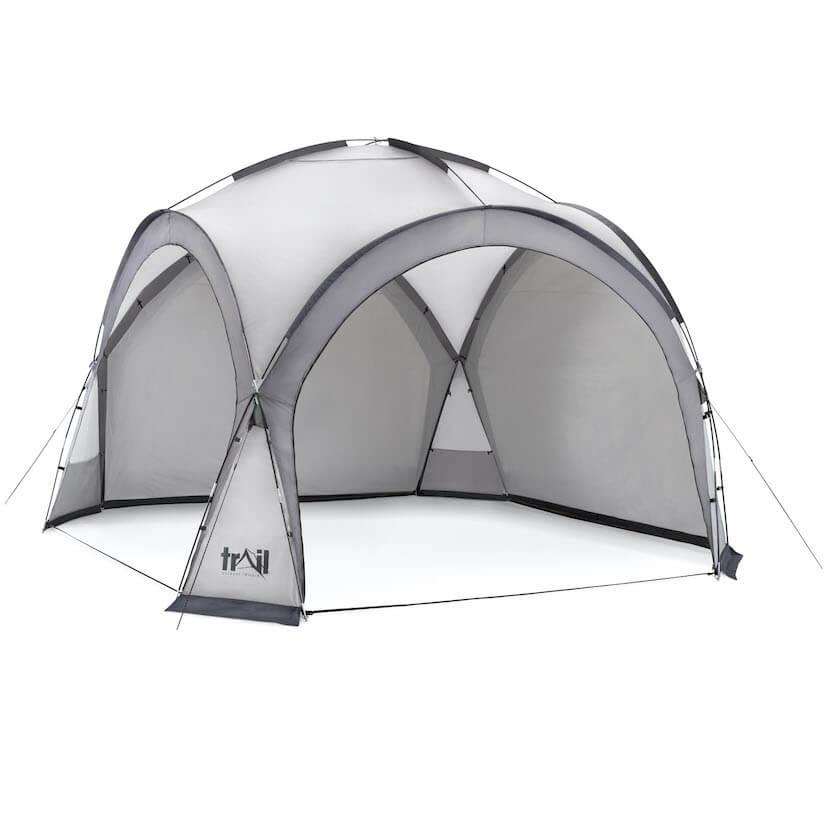 Camping Gazebo Shelter - 564588_dome_shelter_XL_grey_3