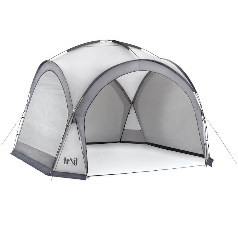 Camping Gazebo Shelter - 564588_dome_shelter_XL_grey_4
