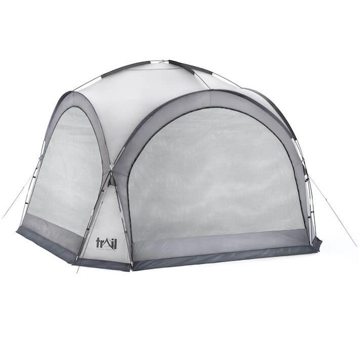 Camping Gazebo Shelter - 564588_dome_shelter_XL_grey_5