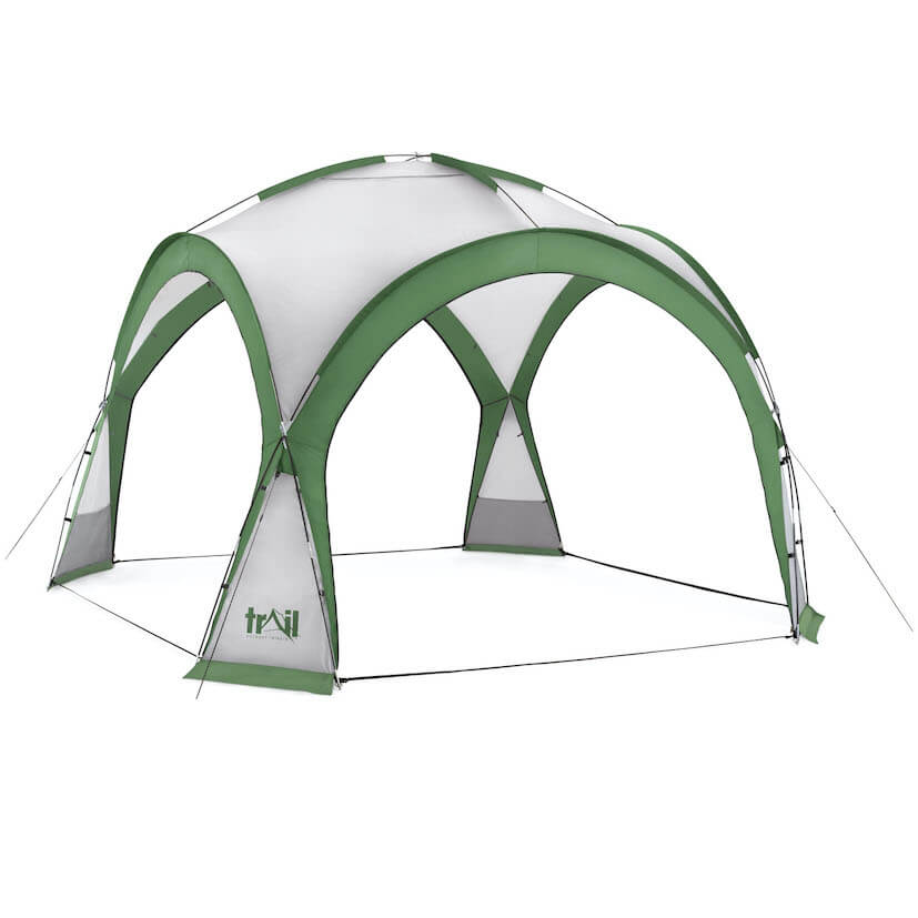 Camping Gazebo Shelter - 564601_dome_shelter_XL_green_1