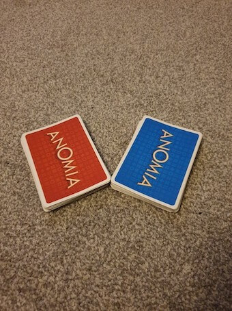 Family Games To Play At Home - Anomia Deck