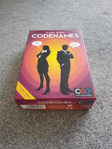 Fun Family Board Games - Codenames Box