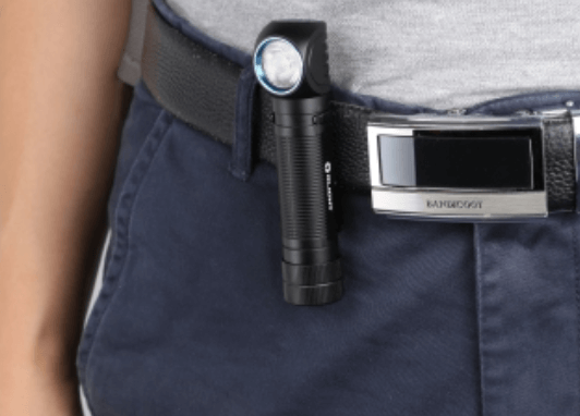 Olight H2R Review - on belt