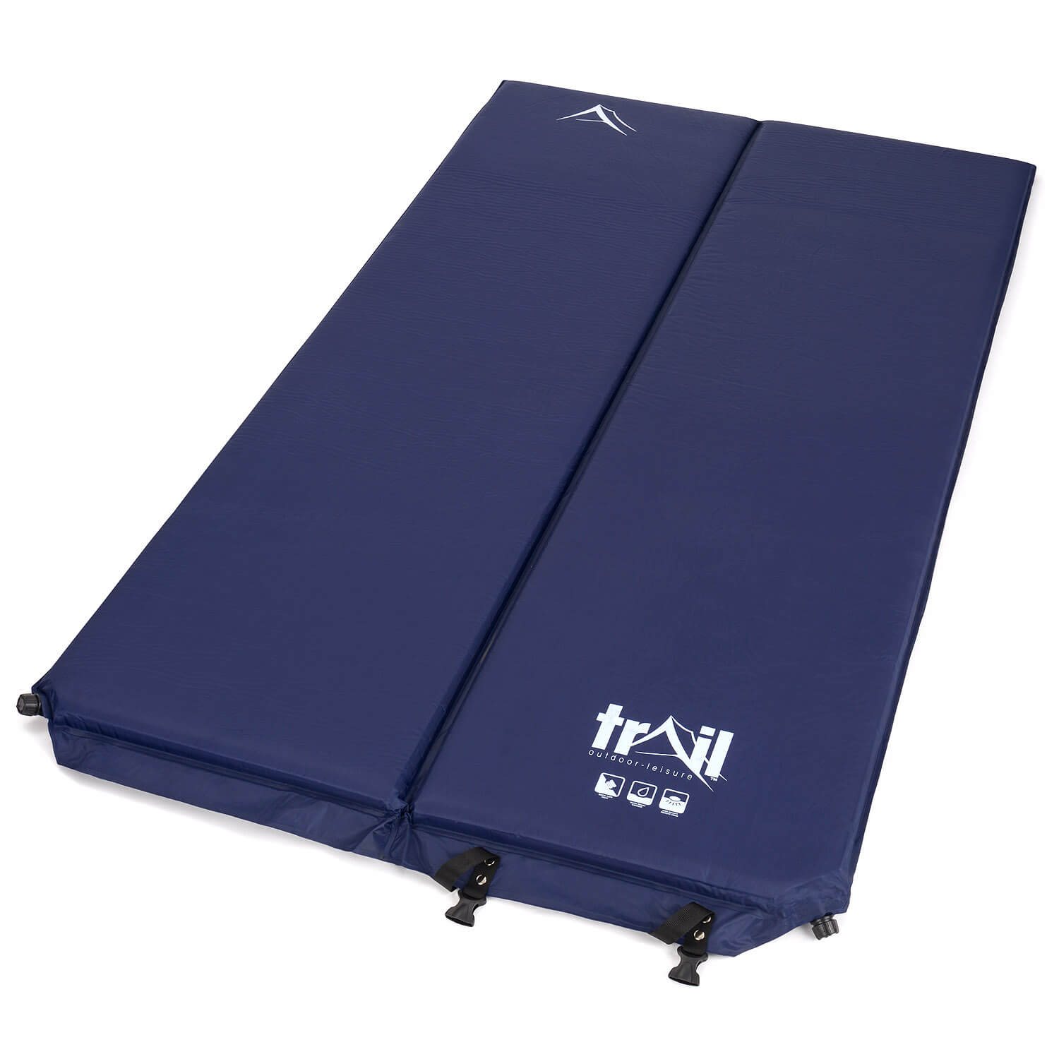 The Trail 5cm Double Self-Inflating Camping Mattress - Open