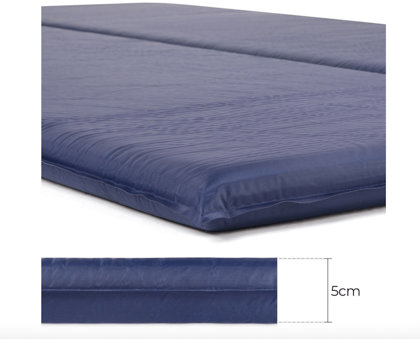 The Trail 5cm Double Self-Inflating Camping Mattress - Thickness