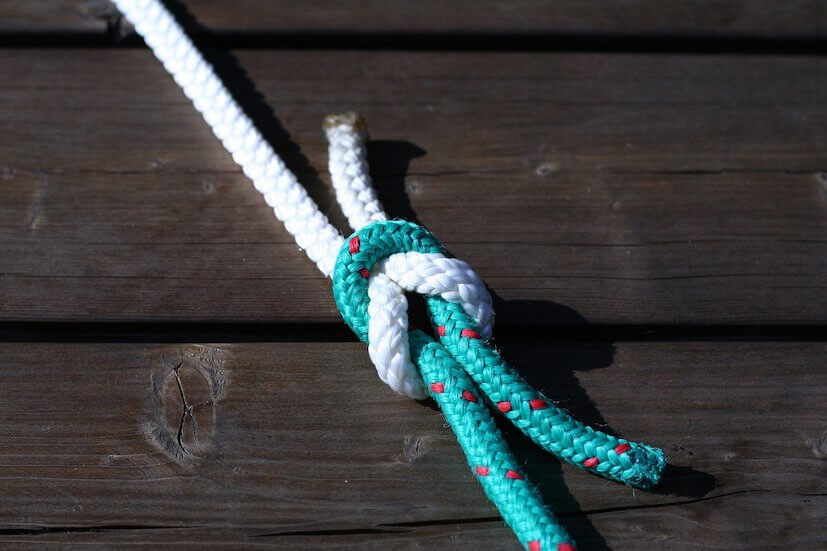 The Best Survival Knots For Camping In The Wild - Sheet Bend