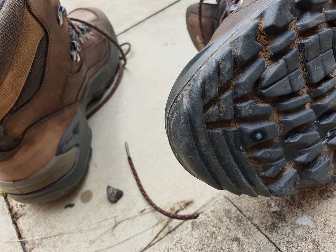 Lowa Renegade GTX Mid Hiking Boot Review - My Sole Front
