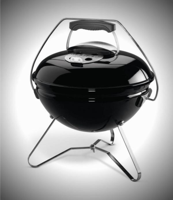 Weber Charcoal BBQ Grills - The Smokey Joe Premium 37cm - Black Front