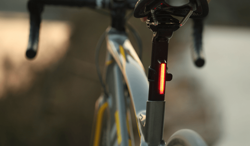 Cycle Light Sets - Olight RN1500 And SEEMEE 30 Review - SEEMEE 30 on bike