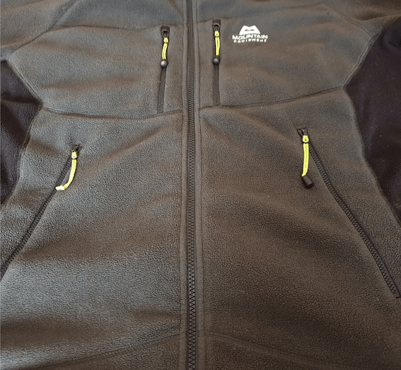 Mountain Equipment Touchstone Fleece Jacket Review - pockets