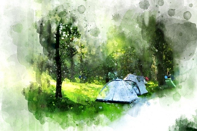 Can I Go Camping During The Coronavirus - Tents in Field