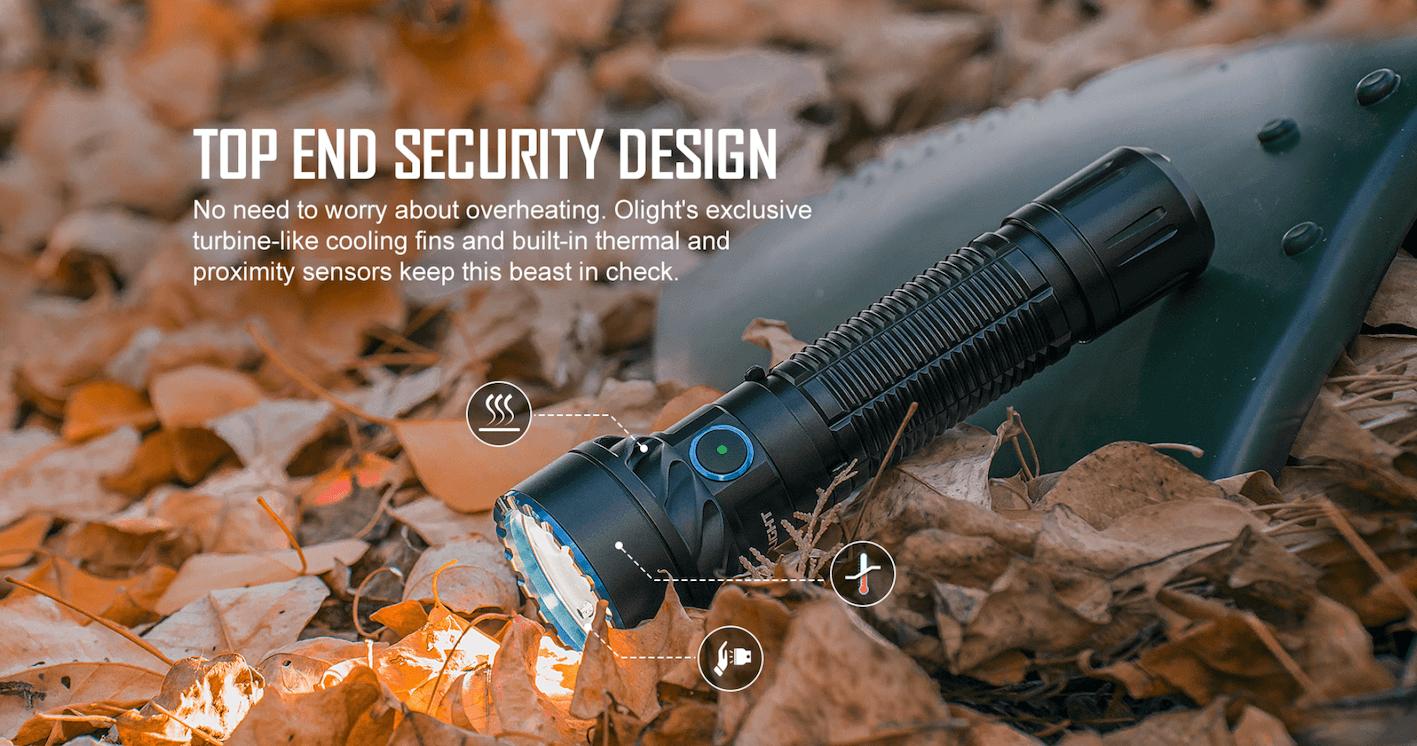 Olight Freyr Multicoloured LED Torch - proximity sensor