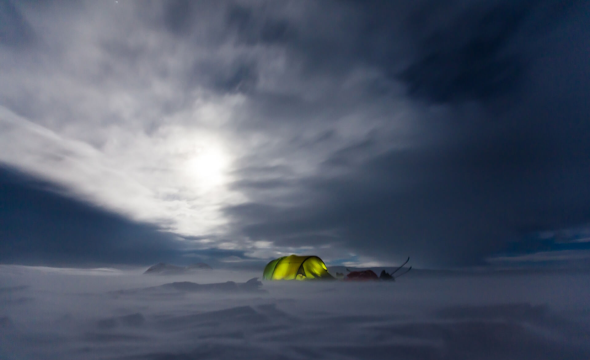 How To Stay Warm While Camping - tent